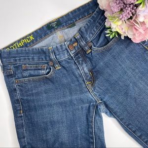 J Crew Factory Stretch Toothpick Jeans